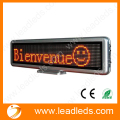 16*96Dots Moving led Display Board Programmable LED SIGN for Car Advertising