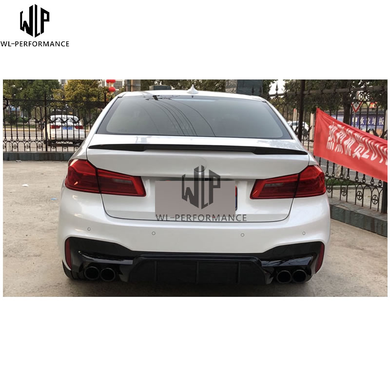 Rear Carbon Fiber Spoiler Wing Trunk Lip for BMW 3 Series F30 F35 Performance