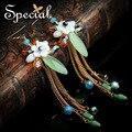 Especial nueva moda pendientes colgantes de piedra Natural pendientes de concha de mar de la joyería de moda regalos para para EH160321