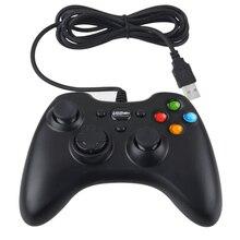 Nueva marca Wired Mango Controlador de Juegos de PC USB dual shock Joypad Joystick Gamepad Para PC Ordenador portátil Remoto Winows XP