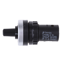ABS пластик поворотный потенциометр 22 мм сопротивление отверстия 5K Ом не требуется пайка Винтовые клеммы не требуется пайка