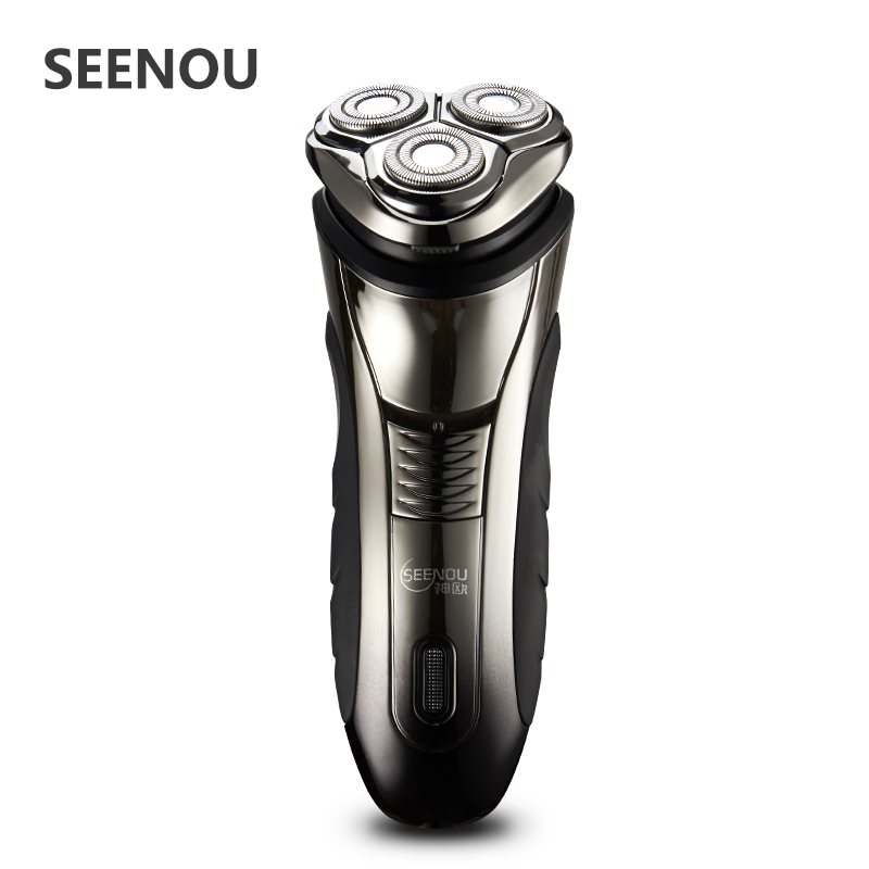 Electric Shaver For Man D Floating Men s Washable Rechargeable Rotary Electric