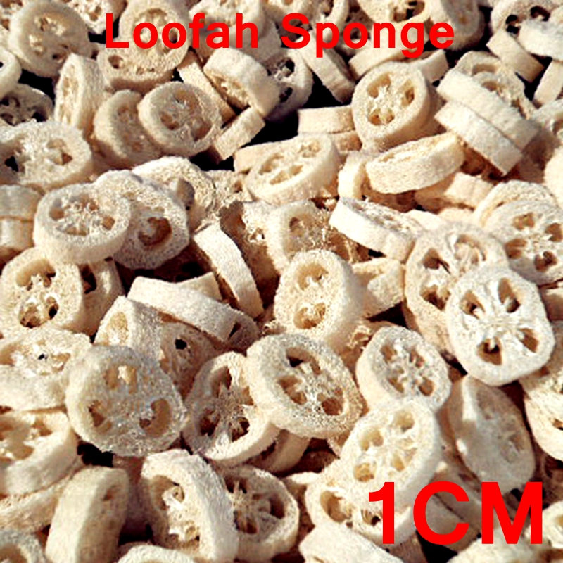 400pcs lot 1CM thick Natural Loofah Luffa sponge DIY customize cleanner soap tools dish sponge scrubber