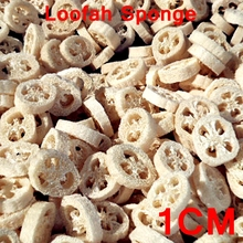 400pcs/lot 1CM thick Natural Loofah Luffa sponge DIY customize cleanner soap tools dish,,sponge scrubber,facial