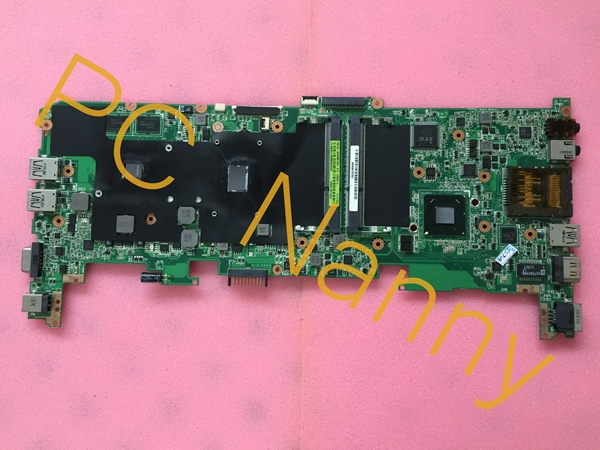 For Asus U36SD REV.2.1 laptop motherboard Intel i5-2430M Cpu onboard DDR3 HM65 NVIDIA GeForce GT 520M 1GB graphics Tested laptop motherboard for asus n43sl n43sl rev 2 0 hm65 nvidia n12p gt a1 ddr3