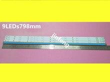 Светодиодная лента для подсветки телевизора Philips, 40 дюймов, 40PFT5300/12 40PFT5300/60 40PFK4509/12 40PFH5300/88 KDL 40R350D 40D3505T