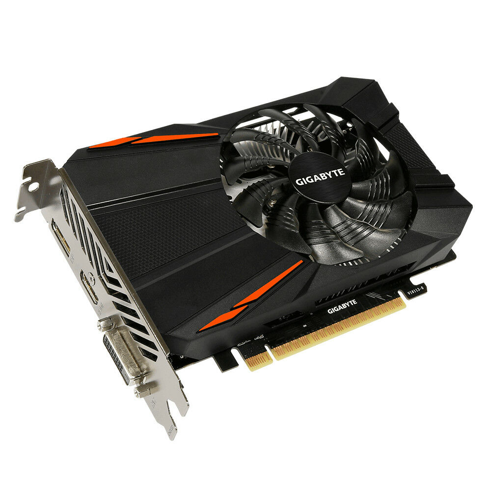 Used Gigabyte GeForce GTX 1050 2GB GDDR5 Graphics Card 2 GB