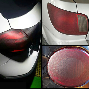 Image 4 - 30x150cm Car Light Tint Vinyl Film Protective Matte Pearl Lighting Flash Point Auto HeadLight Taillight Wrap Car Sticker Styling