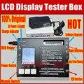 2016 Inglés nueva Caja Probador de la Pantalla LCD con Pantalla Táctil Digitalizador Tester máquina Automática para iPhone4/4S/5G/5C/5S/6G/6 más