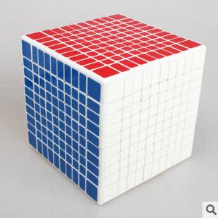 Pro Shengshou 10*10*10 Cubo Cubo Mágico Velocidade Torção Enigma Praça Aprendizado & Educação Brinquedo Cubo Magico crianças Caçoa o Presente