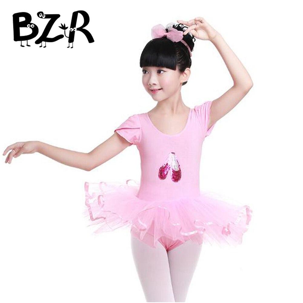 Niñas niños bebé vestido de la danza Rosa baile de color Zapatos imagen  Ballet tutú danza 3f87f4bd10f