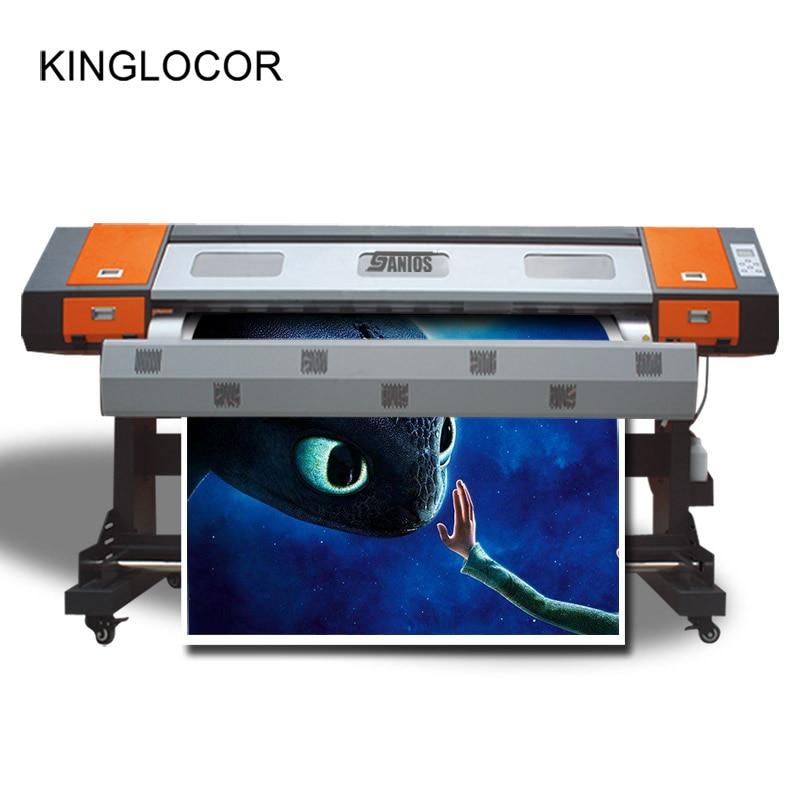 1,8 м многоцветная внутренняя цифровая струйная печатная машина 5113 флексографский сублимационный принтер