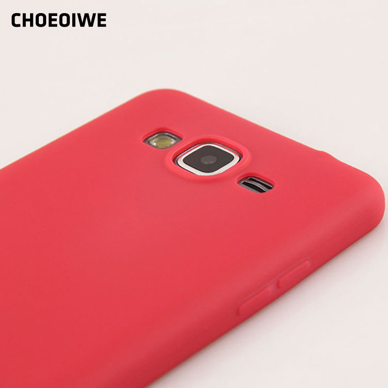 CHOEOIWE Ultra Thin Soft Silicone <font><b>Cases</b></font> for <font><b>Samsung</b></font> <font><b>Galaxy</b></font> <font><b>Core</b></font> <font><b>Prime</b></font> G360 G360H G360G G360F G361F <font><b>G361H</b></font> Candy Color <font><b>Case</b></font> Cover image