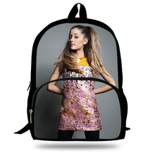 2018 Newest Mochila Ariana Grande Singer Pop Star Printing Children School Bags Boys Teenage Girls Casual Daily Backpacks
