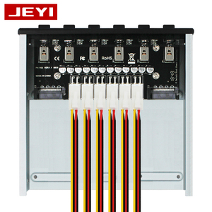 JEYI iControl-8 more 4 hard disk hard control system intelligent control hard disk management system HDD SSD power switch four(China)