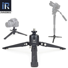Base de trípode de mesa de aluminio INNOREL PW30 para cámara de vídeo monopié Unipod soporte para cámara Canon Nikon Sony DSLR Cámara Smartphone