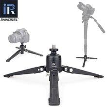 INNOREL PW30 מיני Alumninum שולחן חצובה בסיס עבור וידאו Unipod חדרגל מצלמה עבור Canon Nikon Sony DSLR מצלמה Smartphone