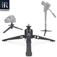 INNOREL PW30 Mini Alumninum Table Tripod Base for Video Unipod Monopod Camera Stand for Canon Nikon Sony DSLR Camera Smartphone