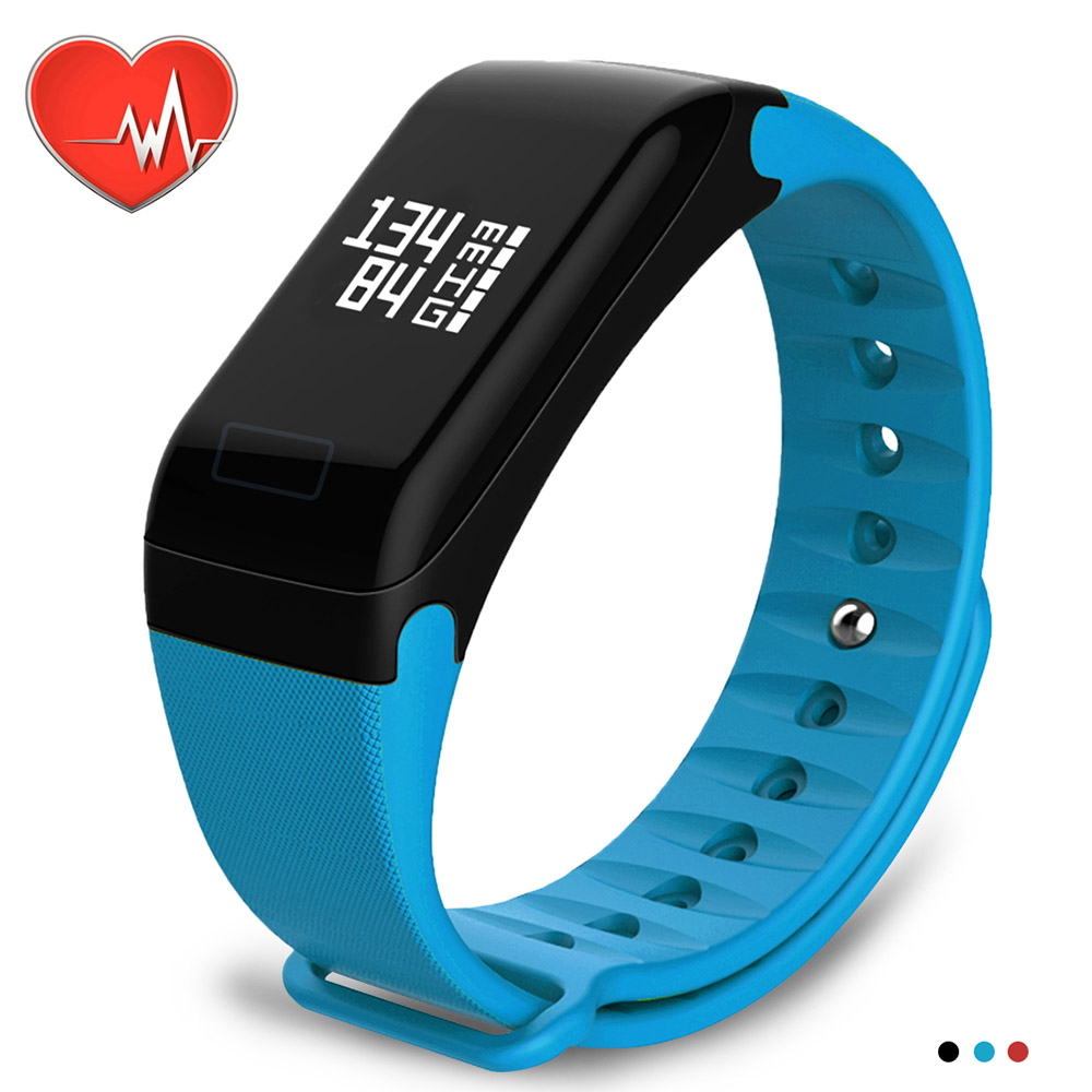 Wearpai F1 Blood pressure Smart Wristband Heart Rate Monitor Fitness Tracker Bracelet With Sport no 1 f1 heart rate monitor smart bracelet blue