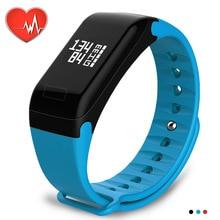 Wearpai F1 Blood pressure Smart Wristband Heart Rate Monitor Fitness Tracker Bracelet With Sport