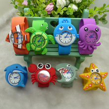 New Children's Watches 3D Animals Cartoon Kids Wrist Watches Baby Watch Clock Quartz Watches for Girls Boys Gifts Relogio Montre