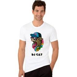 Dj cat t shirts music hip hop rock men t shirt funny short sleeve novel tshirts.jpg 250x250