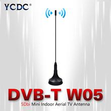 High Gain Signal 5dBi Mini Antena Digital Freeview 5-DBI HDTV Antenna Aerial Booster For DVB-T TV HD-TV Box TV Antenna