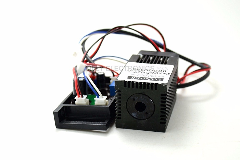 Q-BAIHE 12V 405nm 300mw Violet/Blue Laser Dot Module with Driver out цена