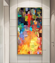 Tableau de décoration moderne abstrait pour salon, peintures murales modernes