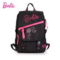Barbie Fashion Women Backpack Big Capacity Backpack Women Leather Backpacks High Quality Girls Travel Bags