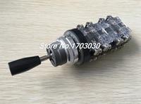 AC 380V 15 Amp 4 Position Spring Return Joystick Switch Controller HKA1 42