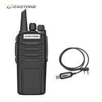 Zastone 10W Walkie Talkie 3 5km UHF Radio Handheld Radio Police Equipment Two Way Radios CB Radio Comunicador Telsiz A9