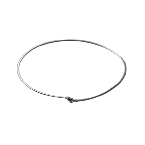 Beadsnice Solid 925 Sterling Silver Women Necklace Wholesale Personalized Silver Collier Choker Snake Necklace ID31863