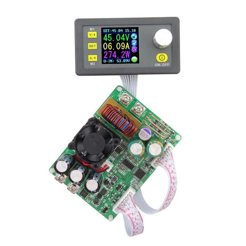 DP50V15A DPS5015 Programmable Supply Power Module With Integrated Voltmeter Ammeter Color Display Hot Sale