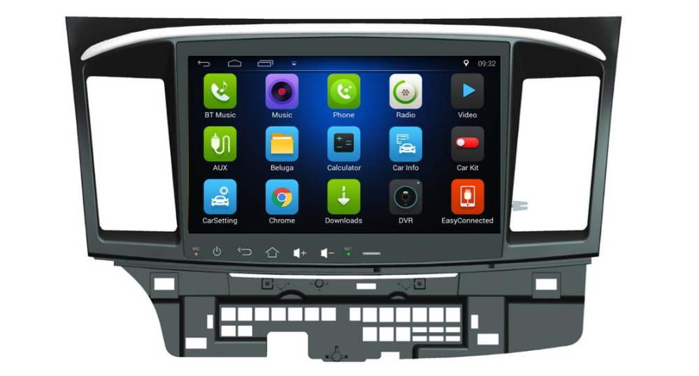 4 Core Android 6.0 10.1inch Car Dvd Gps Navi Audio for ...