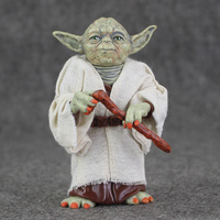Star Wars Jedi Knight Master Yoda PVC Action Figures Toys Collection Brinquedos Great Gifts For Kids