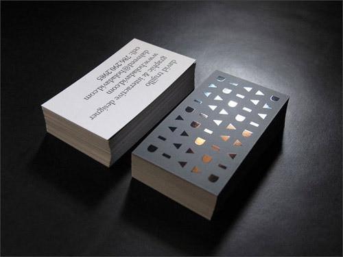 Unique Design 300gsm Cardboard Matte Custom Business Card Gold Foil Cards Printing Service Carte De