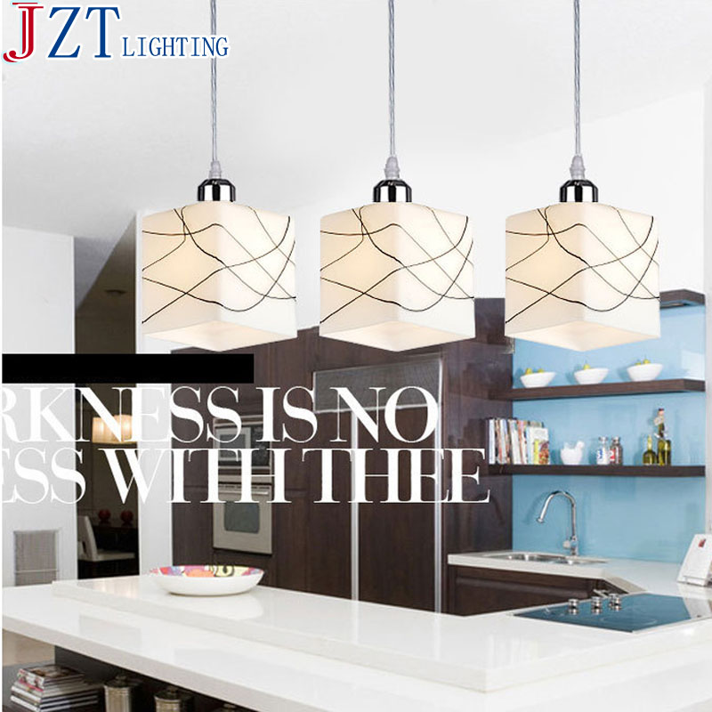 M Best Price E27 Fashion Lustre Glass Cube Chandelier 3 Head Restaurant Modern Led Chandelier Light Fixture Rectangular Base m best price 4 6 head rectangular