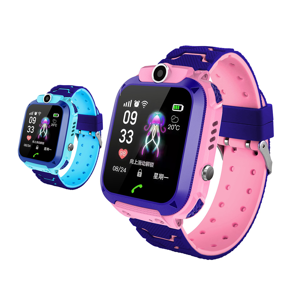 DS88 Kids Smart Watch Children Phone Watch IXP7 Waterproof SOS Call Monitor Touch Screen Anti Lost School Student Smart Watch-in Smart Watches from Consumer Electronics