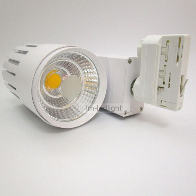 dimmable 30w led track light 4 wire 3 phase rail verlichting track ...