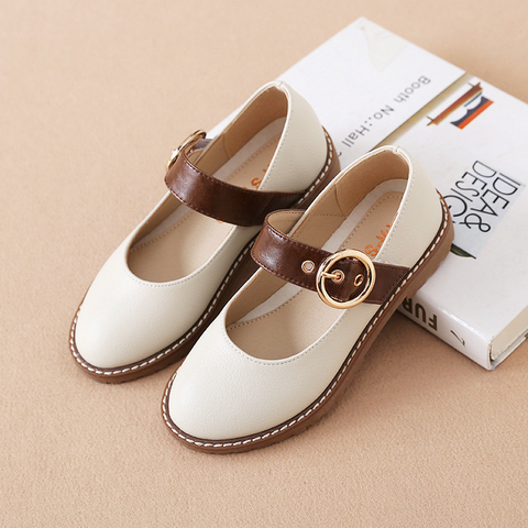 criancas sapatos de couro 2019 nova princesa das meninas sapatos de fivela decoracao criancas sapatos