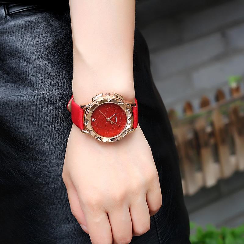 BGG Yepyeni 2018 Moda Kuvars İzle Kadınlar Saatler Bayanlar - Kadın Saatler - Fotoğraf 4