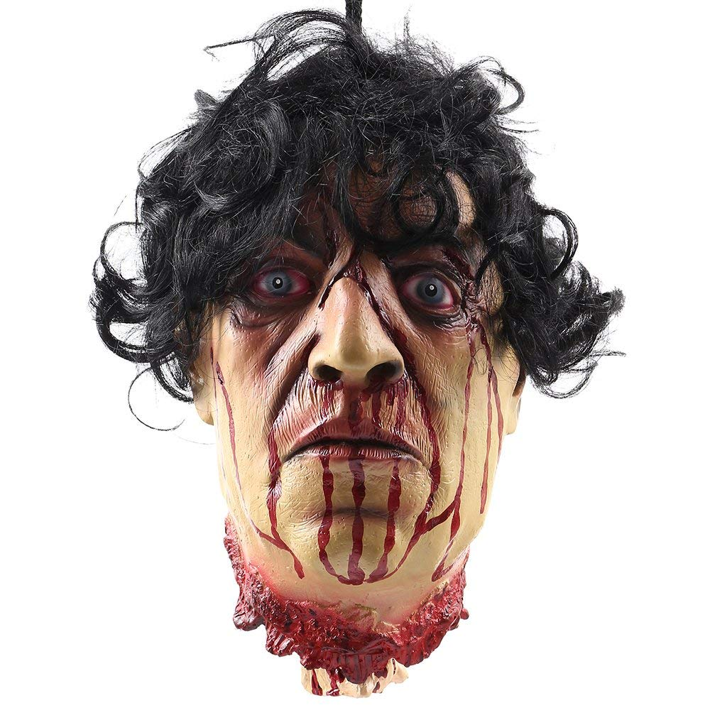 Halloween Horror Props Bloody Hand Haunted House Party Decoration Scary Zombie Heads Bloody Fingers