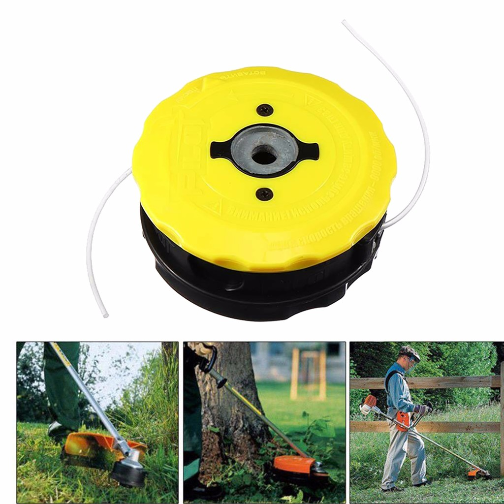 Fit Husqvarna Rok Stihl ABS Universal Speed Feed Line Trimmer Head Weed Eater