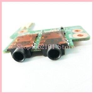 Image 4 - Para Asus ROG G750 G750JX G750JH G750JM G750J G750JW G750JS G750JZ DC Power Jack Soquete da Placa do Interruptor de Botão