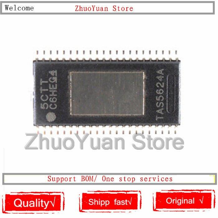 10PCS/lot New Original TAS5624ADDVR TAS5624A TAS5624 HTSSOP-44 IC Chip