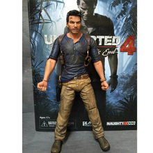NECA Action Figure Original Uncharted 4 A Thief's End Nathan Drake Figure Model Collections Gifts