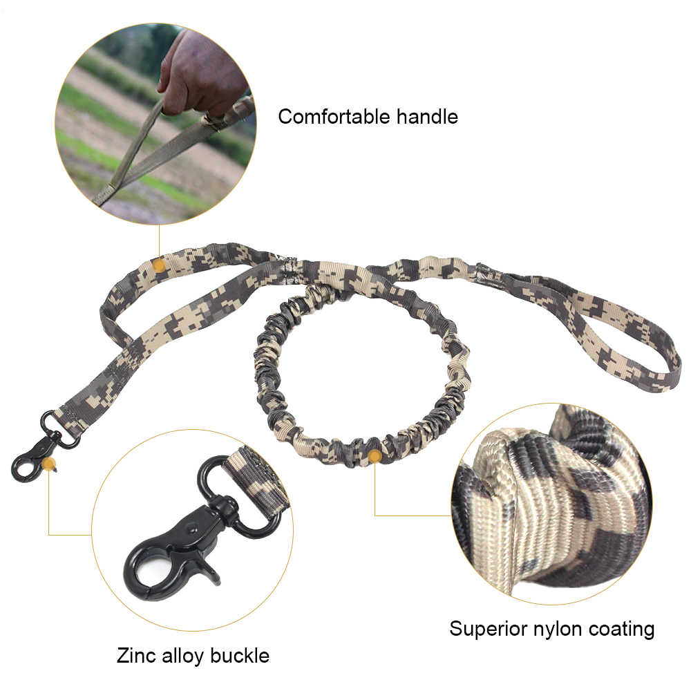 小中犬リーシュ制御ハンドル犬の訓練バンジーリーシュ弾性犬リードロープ
