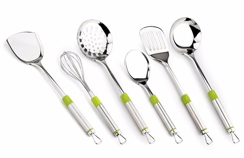 cozinha de aço inoxidável utensílios de cozinha