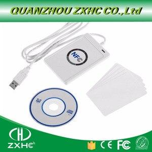 Image 2 - USB считыватель NFC ACR122U, устройство для чтения карт для ISO14443, протокол S50, Ntag213, Ntag215, Ntag216